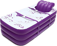 2 In 1 Inflatable Bathtub PVC Foldable SPA