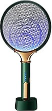 2 in 1 LED Electric Mosquito Swatter 1200mAh USB
