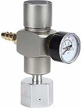 2-in-1 Mini CO2 Gas Regulator Soda Pressure Gauge