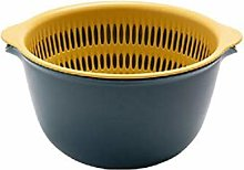 2-in-1 Multi-Function Kitchen Colander/Filter Bowl