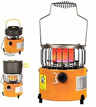 2-in-1 Portable Heating Stove Liquefied Gas Heater