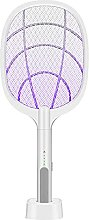 2 In 1 Rechargeable Insect Trap Racket Night