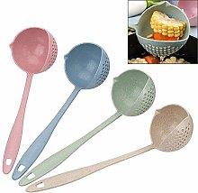 2 in 1 Soup Spoon Colander Tools,Hot Pot