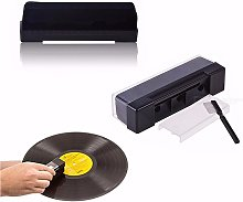 2 in 1 Vinyl Record Cleaning Kit Carbon Fiber Anti