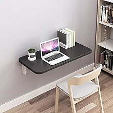 2-in-1 Wall-Mounted Floating Table Desk, Folding
