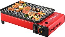 2 In1 Camping Stove Gas Portable,Grill Plate for