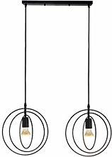 2 Light Indoor Ceiling Pendant Light Shade, E27