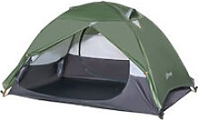 2 Man Camping Tent w/ 2 Doors Mesh Windows Carry