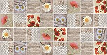 2 METRES TRADITIONAL POPPY FLOWERS FLORAL POPPY