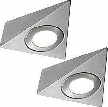 2 Pack | *240V Mains* LED Triangle Under Cabinet
