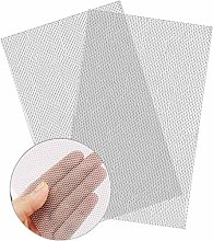 2 Pack 304 Stainless Steel Woven Wire 20 Mesh,