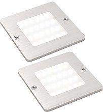 2 Pack | 5W LED Square Under Cabinet Kitchen