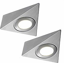 2 Pack | Bright 2.6W LED Under Cabinet Pyramid