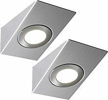 2 Pack | Bright 2.6W LED Under Cabinet Wedge Spot