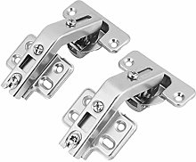 2 Pack Door Hinges Corner Fold Hinge 135 Degree