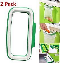 2 Pack Hanging Trash Garbage Bag Holder Portable