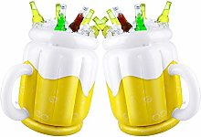 2 Pack Inflatable Beer Cooler Buckets for Summer