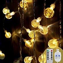 [2 Pack]Koopower Crystal Ball Lights, 30 LEDs