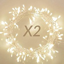 [2 Pack] Koopower Fairy Lights Battery Operated,