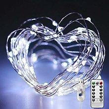 [2 Pack] Led String Lights Waterproof, 120 LEDs