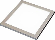 2 Pack   LED Under Cabinet Square Panel Spot Light