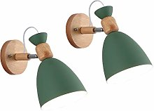 2 Pack Nordic Adjustable Swing Arm Antique Wall