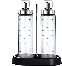 (2 Pack) Olive Oil Dispenser Bottle with Caddy