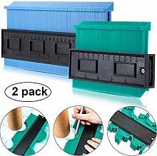 2 Pack Plastic Contour Gauge Profile Gauge