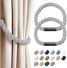 2 Pack Strong Magnetic Curtain Tiebacks Modern