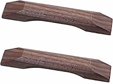 2 Pack Wood Kitchen Door Handles Cabinet Pull