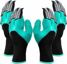 2 pair garden gloves, both hand claws Gardening