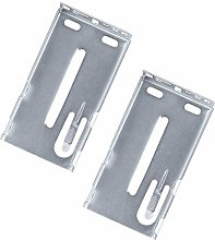 2 Pairs Cabinet Drawer Bracket for Face Frame