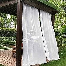 2 Panels Outdoor Curtains Waterproof for Patio -
