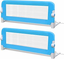 2 pcs Bed Guard | Baby Toddler Bed Rail Folding