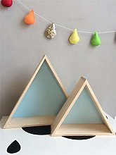 2 Pcs Children's Room Decoration Triangle