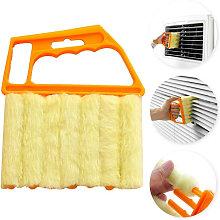2 PCS Microfiber Blind Cleaning Brush Washable