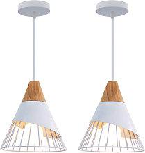 2 pcs Modern badminton pendant light, adjustable