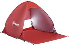 2 Person Pop up Beach Tent Hiking UV Protection