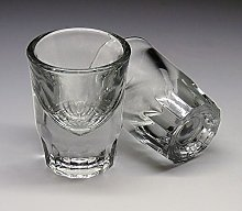 2 Personalised 1.2oz Bullet Shot Glass Gift for