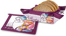 2 Piece Bread Basket and Table Mat Bashful  Set
