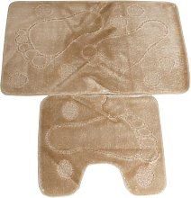 2 Piece Foot Pattern Bath & Pedestal Bathroom