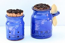 2-Piece Garlic Jar and Salt Pot Set Symple Stuff