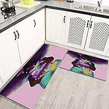 2 Piece Kitchen Rugs and Mats Kitchen Rug