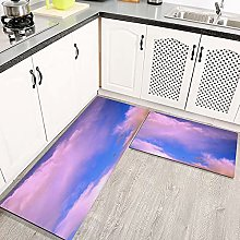 2 Piece Kitchen Rugs and Mats Kitchen Rug Set,View