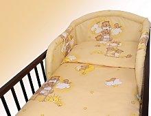 2 Piece/Pc BABY BEDDING SET COT BED QUILT/DUVET