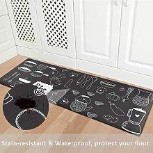 2 Pieces Comfort Anti Fatigue Kitchen Standing