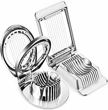 2 Pieces Egg Slicer Multipurpose Stainless Steel