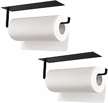 2 Pieces Kitchen Roll Holder Stainless Steel Self