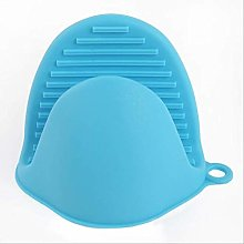 2 Pieces Mini Silicone Oven Mitts Pot Holders Sets