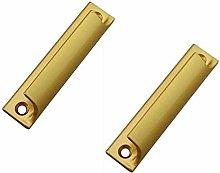 2 Pieces of Aluminum Alloy Sliding Door Handle